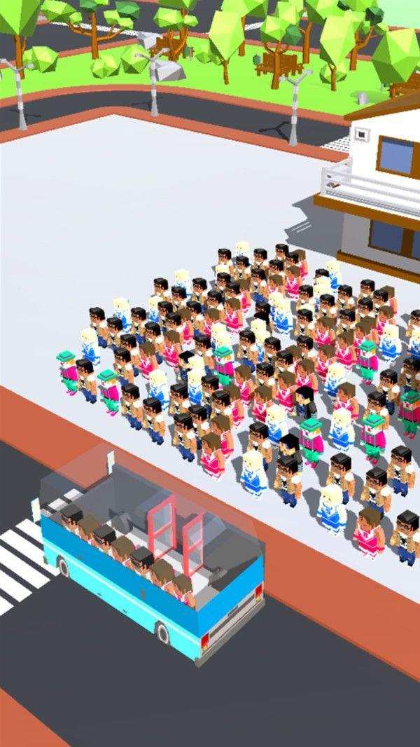 挤上公交是不可能的 图1
