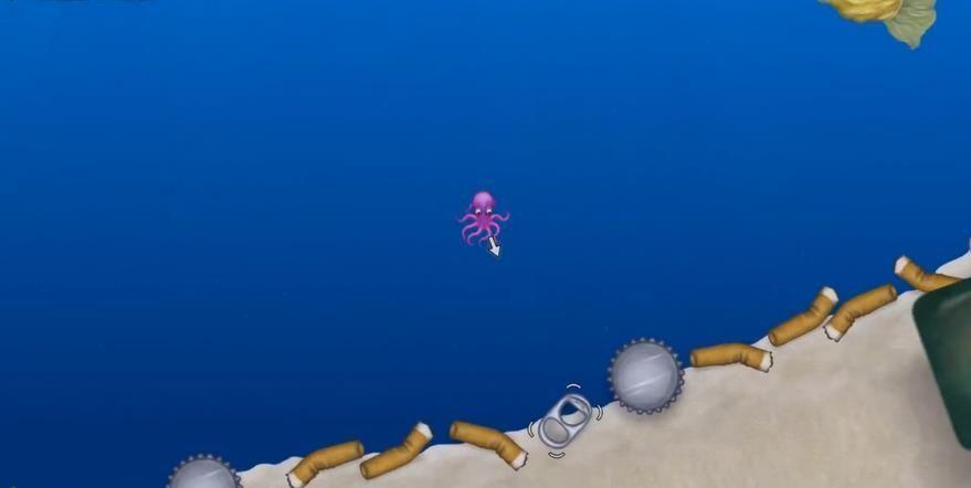 章鱼吃垃圾 图3