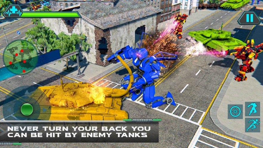 直升机变换坦克战争 图3