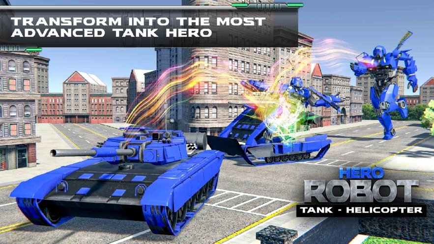 直升机变换坦克战争 图1