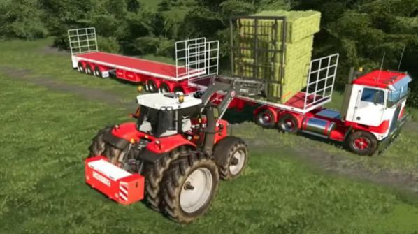 现代拖拉机模拟器2020 图2