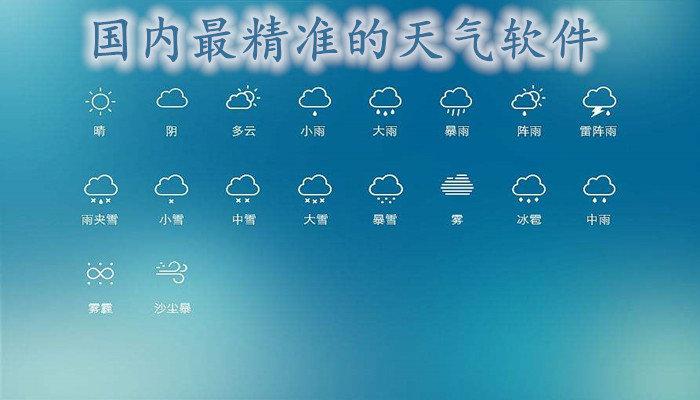 國內最精準的天氣軟件