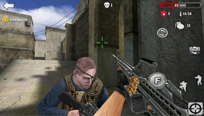 可以捡枪的射击游戏