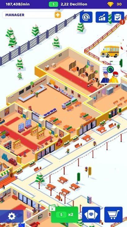 空闲滑雪大亨游戏 图4