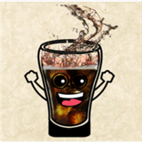 快乐的可乐杯